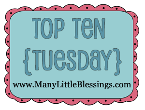 top ten tuesday You Might Be a Pick & Choose Homeschooler IF..