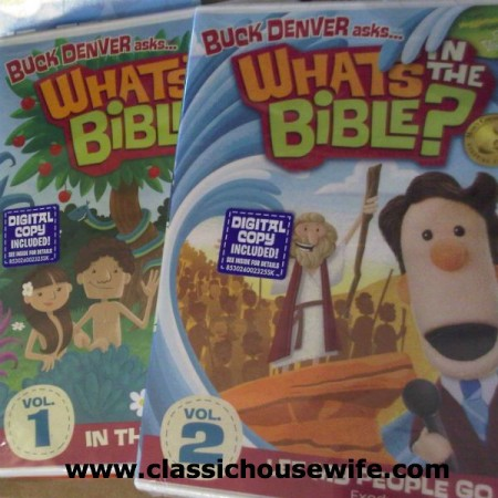 What's in the Bible DVD series