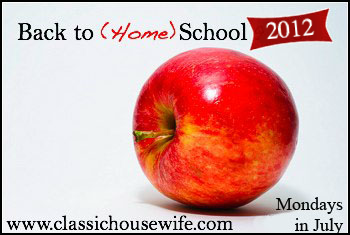 Back to Home School 2012 Back to (Home) School ~ Planning Our Days