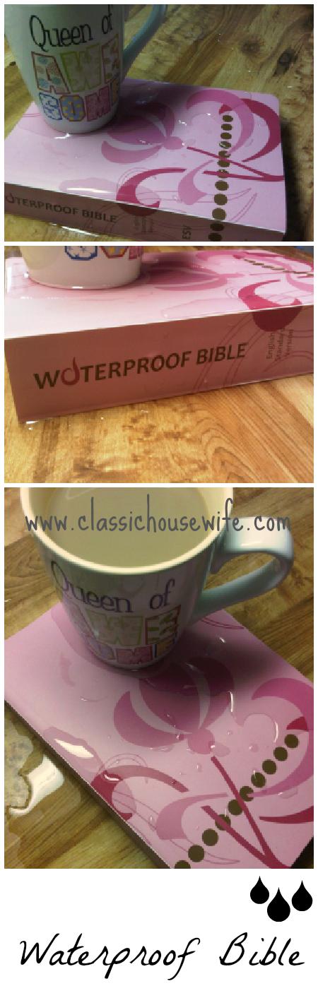 Waterproof Bible Test & Video Review