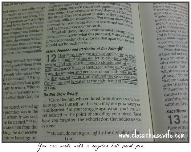 Waterproof Bible