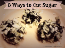 8 Ways to Cut Sugar