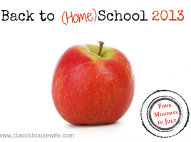 Back to Home School 2013