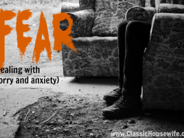 fear worry and anxiety
