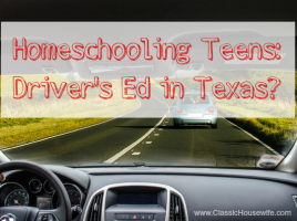homeschool drivers ed texas