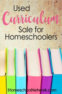 Used Curriculum Linkup at iHomeschool Network