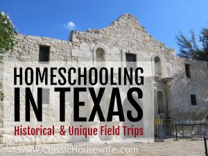 homeschooling field trips in texas