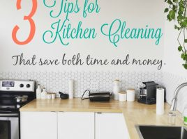 Three Kitchen Tips to Save Time and Money