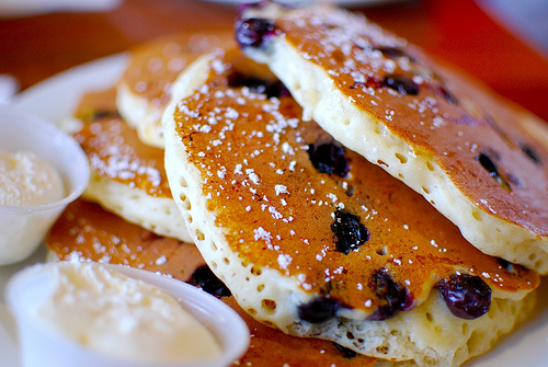 Homemade Blueberry Pancakes – WFMW