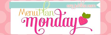 Menu Plan Monday (Month of May)