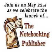 Notebooking Publisher Launch Party on Facebook!