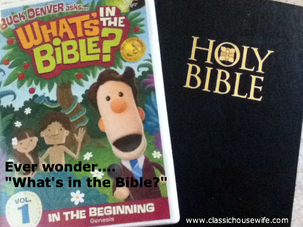 What's in the Bible? Volume 1, In the Beginning ~ Review