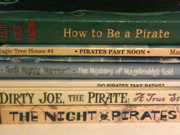 Ten Pirate Read-Aloud Books for Little Boys