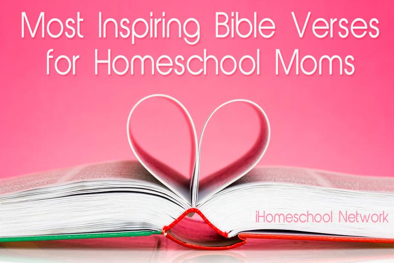 5 Encouraging Bible Verses For Homeschool Moms
