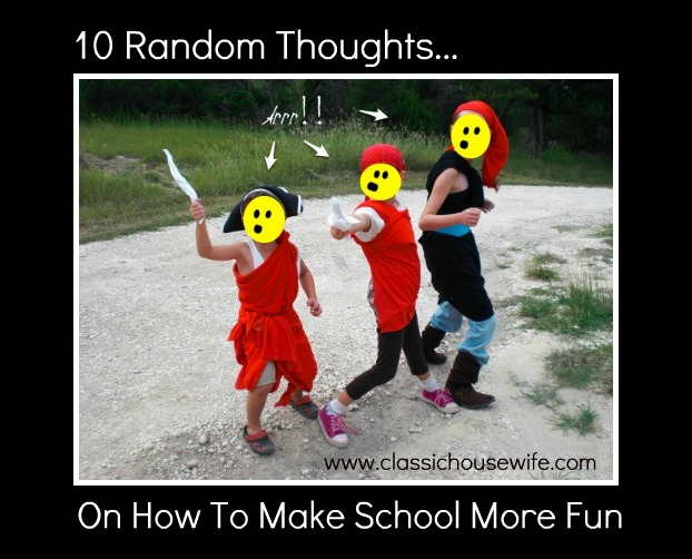 10 Ways to Make Homeschool Fun