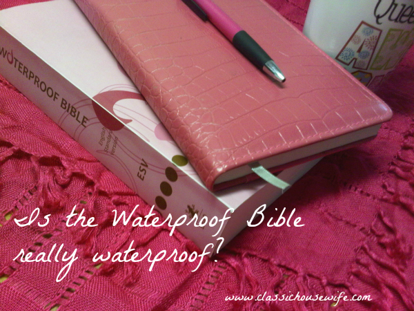 The Waterproof Bible with Video Review