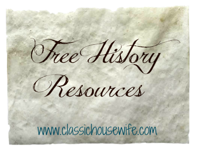 Ten Free History Resources