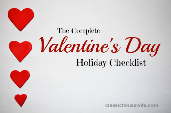 The Complete Valentine's Day Lesson Plan Checklist