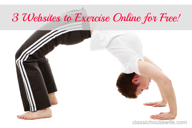 3 Websites to Exercise Online For Free (Healthy Habits)