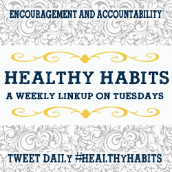 Healthy Habits 2/5 ~ Get Back On That Horse