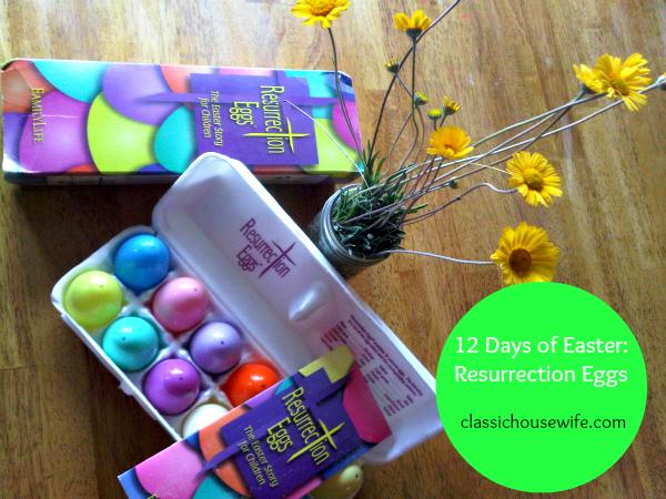 12 Days of Easter ~ Resurrection Eggs