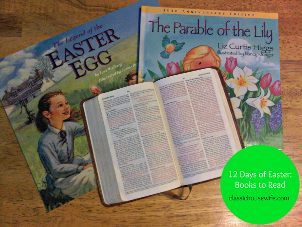 12 Days of Easter ~ Books for Easter