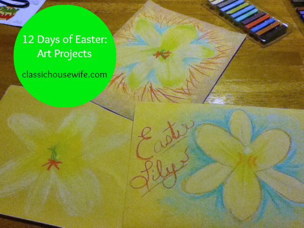 12 Days of Easter: Art Projects