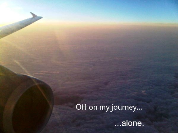 My Journey to the Baltimore Real Refreshment Retreat, Part 1: Alone but Not Alone.