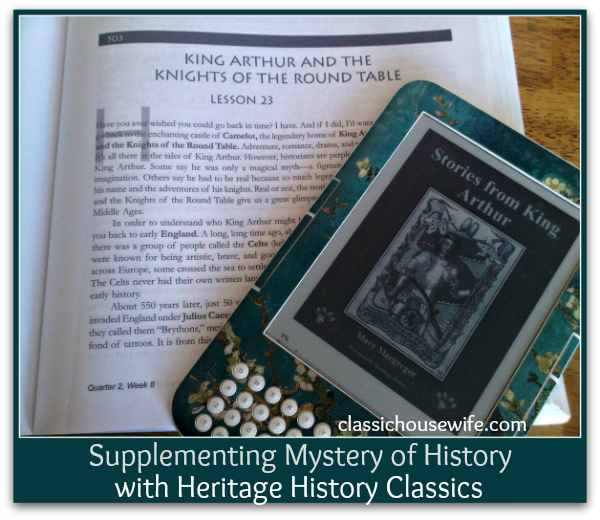 Supplementing the Mystery of History with Heritage History Classics
