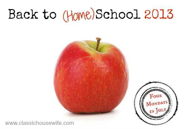 Our Flexible School Day – Back to (Home) School 2013