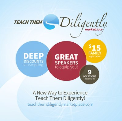 What is the Teach Them Diligently Marketplace?