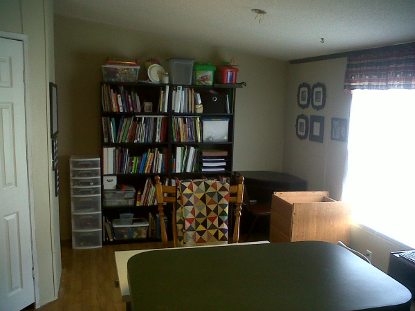 Our School Room – Back to (Home) School 2013