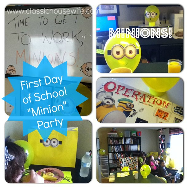 Back to School Minion Party (Despicable Me)