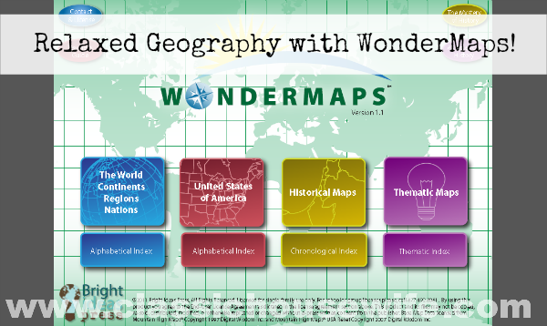 WonderMaps for Relaxed Geography