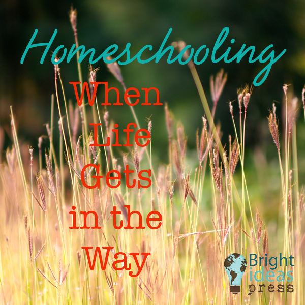 Homeschooling When Life Gets in the Way – Bright Ideas Press Blog