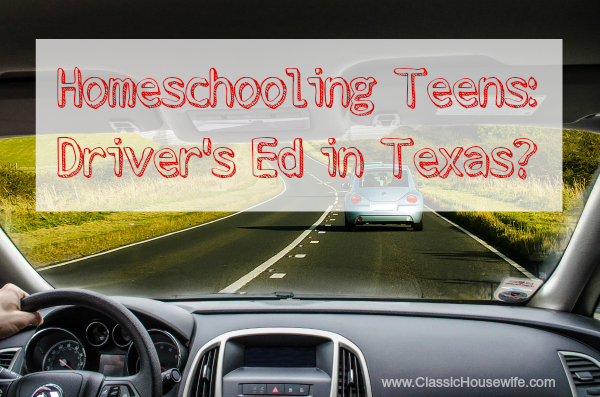 Homeschooling Driver's Ed?!
