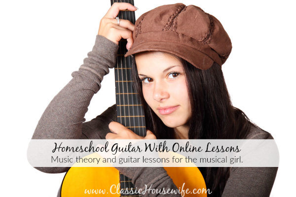 Homeschool Guitar With Online Lessons
