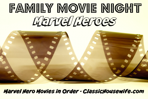 Want to Watch the Marvel Hero Movies in Order?