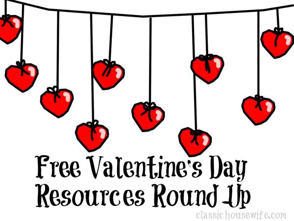 Free Valentine's Day Resources Round-Up
