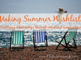 Making Summer Wishlists