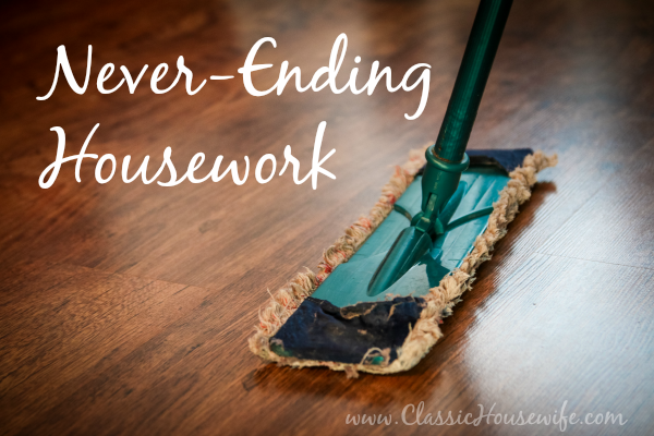 Never-ending Housework