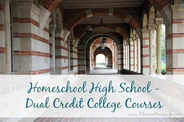 Homeschool High School Dual Credit