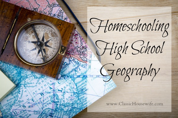 Homeschooling High School Geography