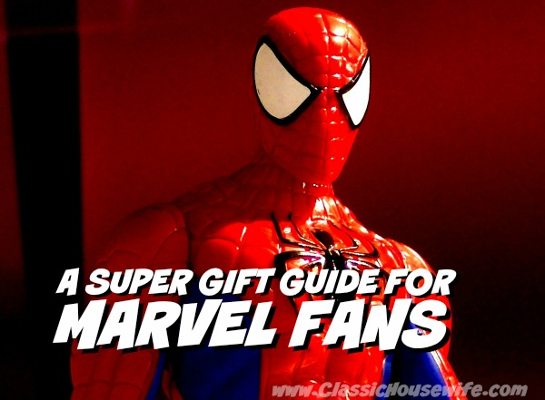 A Super Gift Guide for Marvel Fans