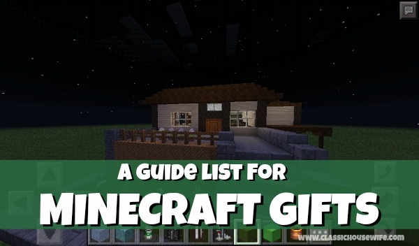 A Guide List for Minecraft Gifts