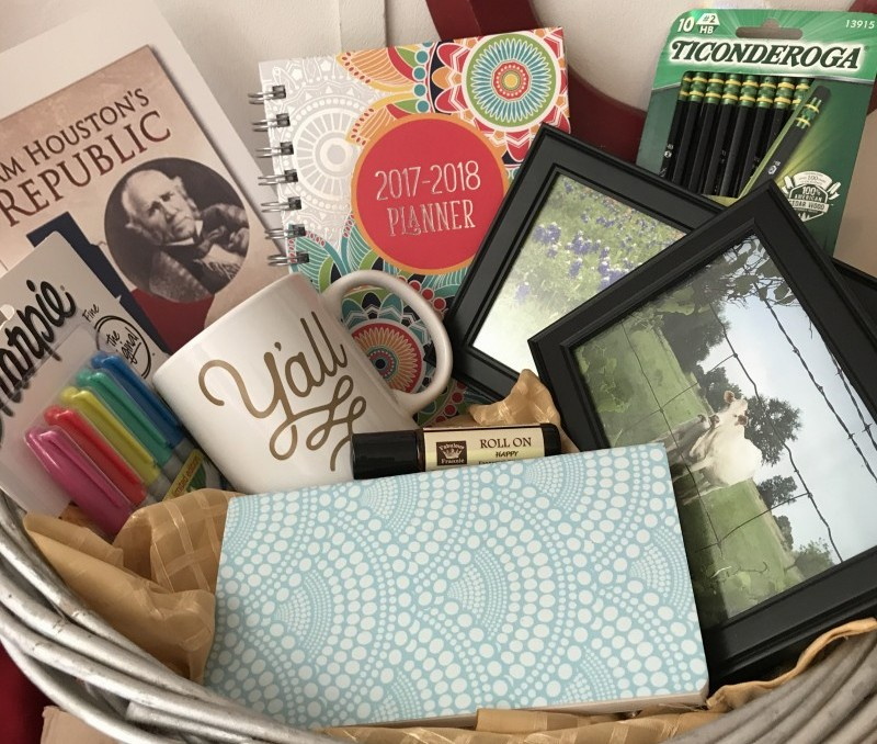 Giveaway! My Favorite Back to School Things, with a Texas Twist *Closed*