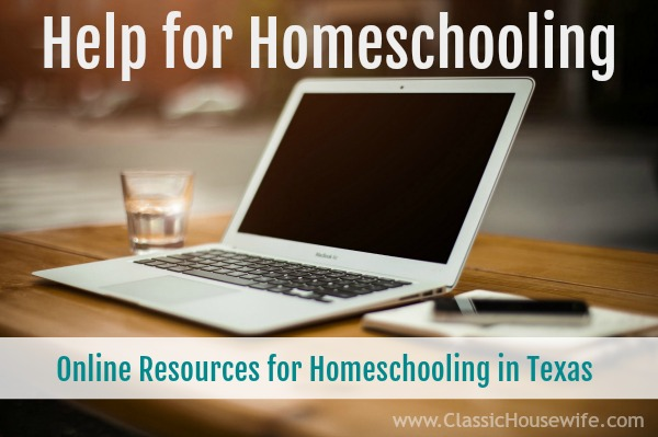 Online Resources and Help for Homeschooling in Texas