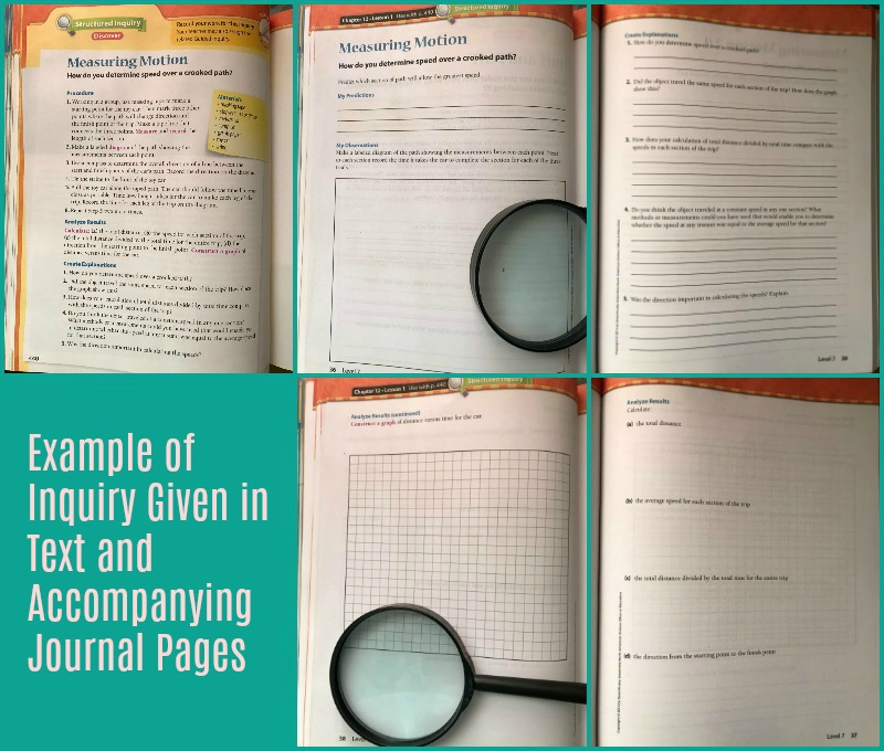 Inquiry Based Science Journals