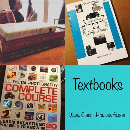 Textbooks for Eclectic Homeschooling