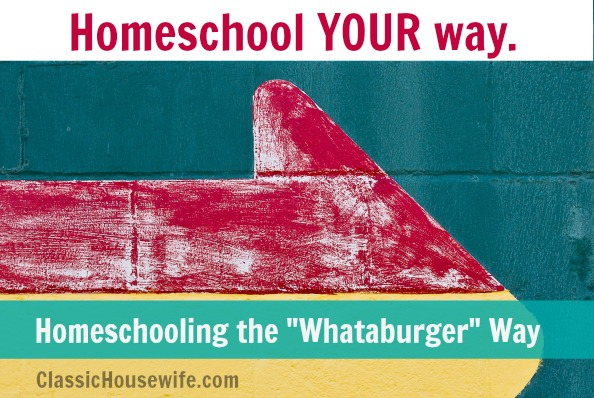 Homeschool YOUR Way (And the hardest part of homeschooling so far.)